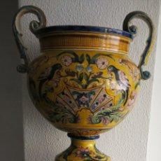 Antigüedades: CERAMICA DE TRIANA. PERFECTO ESTADO.. FINALES DEL XIX - XX. Lote 120327567
