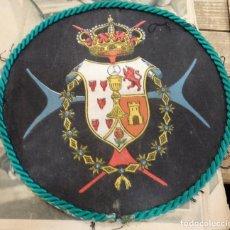 Antigüedades: SEMANA SANTA SEVILLA, LOTE 5 ESCUDOS ANTIGUOS HERMANDAD DE LA TRINIDAD, VER IMAGENES. Lote 120329327