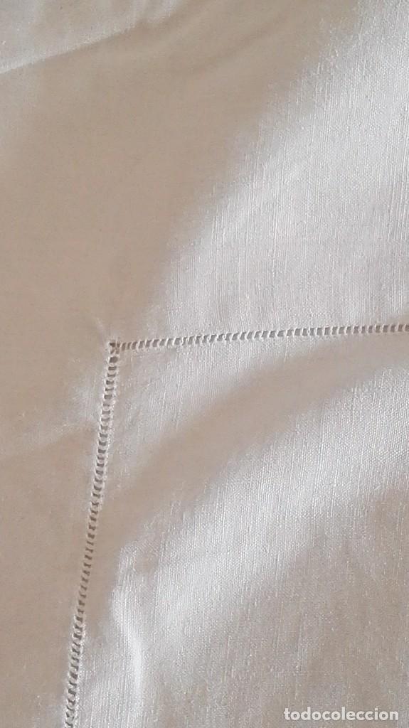 Antigüedades: Sábanas de hilo, bordadas a mano - Foto 2 - 120344491