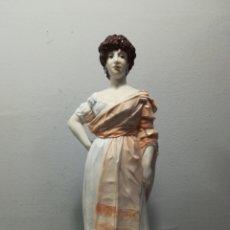 Antigüedades: FIGURA LA TIRANA EN PORCELANA ALGORA. Lote 120345371