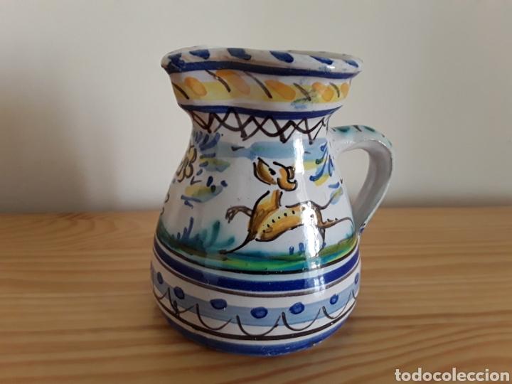 JARRA VINATERA CERÁMICA DE TRIANA (Antigüedades - Porcelanas y Cerámicas - Triana)