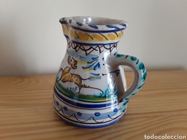 Antigüedades: Jarra vinatera cerámica de Triana - Foto 2 - 120349763