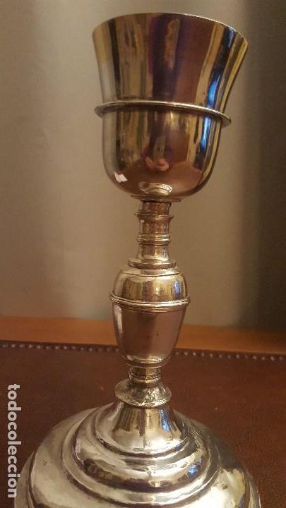 Antigüedades: Cáliz siglo XVII - Foto 3 - 120363079