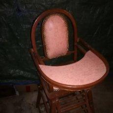 Antigüedades: TRONA TACA TACA ANDADOR BEBE. Lote 120383299