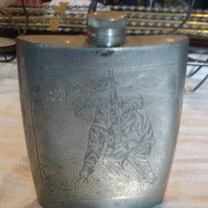 Antigüedades: PETACA DE ESTAÑO. Lote 120385575