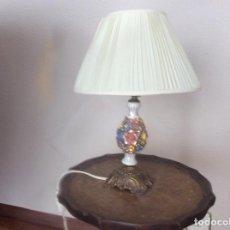 Antigüedades: LÁMPARA SOBREMESA. Lote 120396063