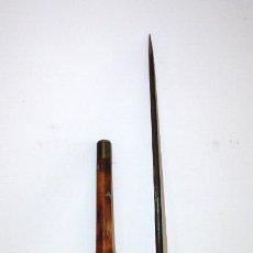 Antigüedades: PRECIOSO BASTON DE ESTOQUE Y EMPUÑADURA DE MARFIL. MARCA DE COULAUX & C KLINGENTHAL EN ESTOQUE. Lote 120402439