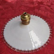 Antigüedades: LÁMPARA TULIPA CHECOSLOVAQUIE. Lote 120406183