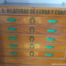 Antiquités: ARMARIO DE LA MARCA FABRA COATS. Lote 120431751