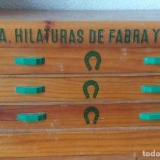 Antigüedades: ARMARIO DE LA MARCA FABRA COATS. Lote 120433071