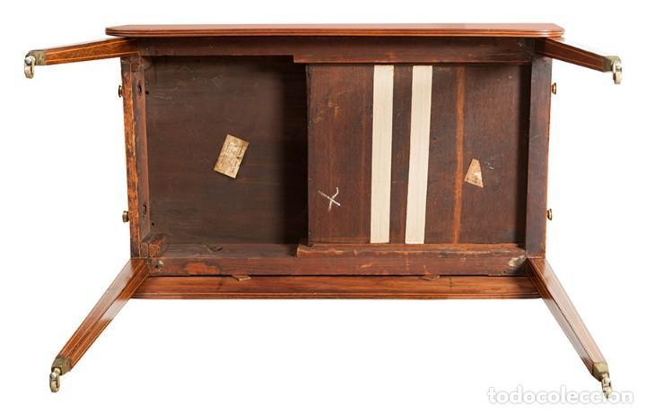 Antigüedades: Mesa de alas. Inglaterra, principios del siglo XIX - Foto 6 - 120450391