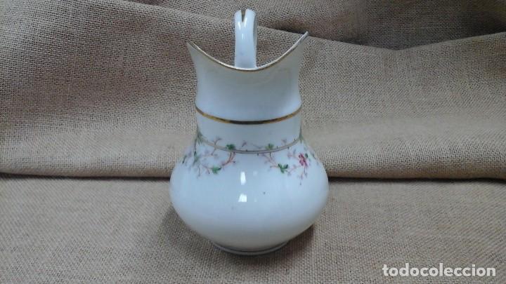 Antigüedades: Jarra en porcelana fina estilo Limoges . 1950 - Foto 2 - 120470671