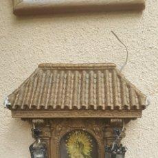 Antigüedades: CAPILLA VIRGEN EN ESCAYOLA. Lote 120478836