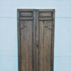 Antigüedades: PUERTA ANTIGUA DE INTERIOR TALLADA. Lote 120491851