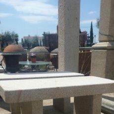Antigüedades: BANCO DE PIEDRA DE GRANITO. Lote 120520684