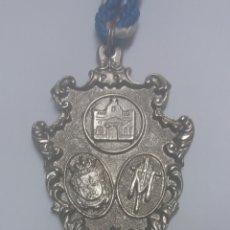 Antigüedades: MEDALLA HERMANDAD DE LA SANTA CRUZ, EL CAMPILLO, HUELVA. Lote 120527618