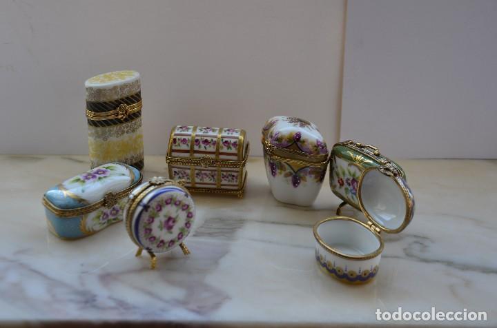 PASTILLEROS DE PORCELANA (Antigüedades - Cristal y Vidrio - Inglés)