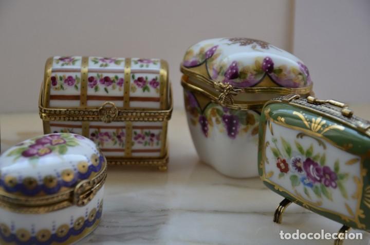 Antigüedades: PASTILLEROS DE PORCELANA - Foto 3 - 120540299