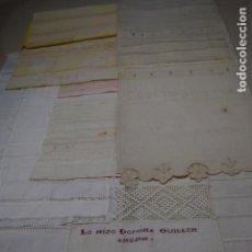 Antigüedades: COLECCION DE 10 DECHADOS O MUESTRARIOS . Lote 120577951