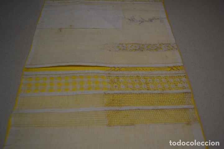 Antigüedades: coleccion de 10 dechados o muestrarios - Foto 3 - 120577951