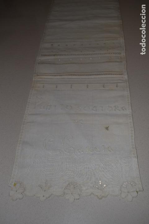 Antigüedades: coleccion de 10 dechados o muestrarios - Foto 13 - 120577951