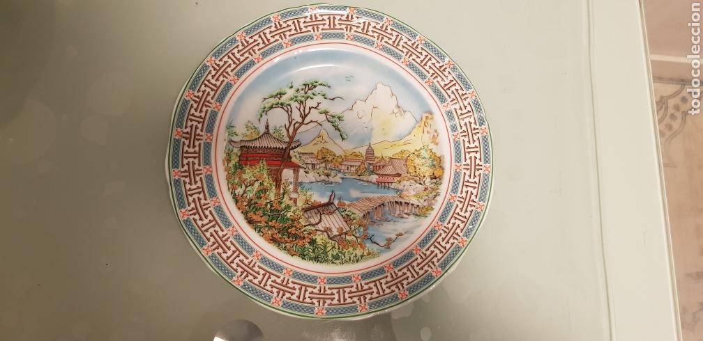 Antigüedades: Bonito plato oriental - Foto 2 - 120578984