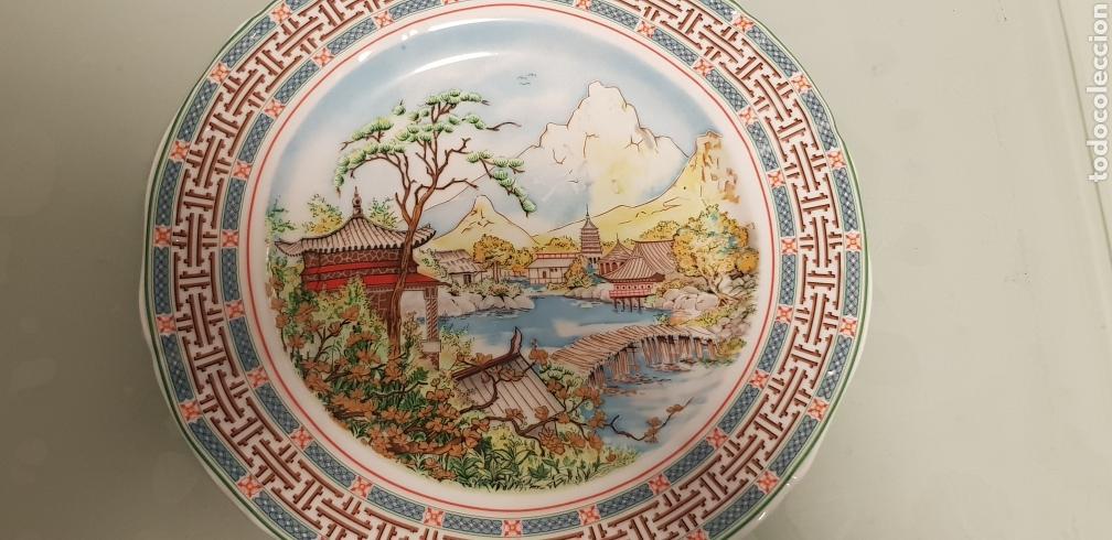 Antigüedades: Bonito plato oriental - Foto 3 - 120578984