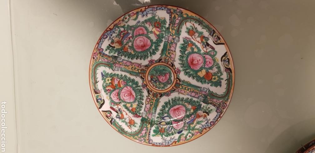 Antigüedades: Bonito plato oriental - Foto 2 - 120580560