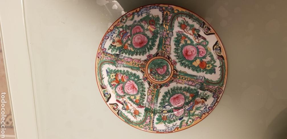 Antigüedades: Bonito plato oriental - Foto 3 - 120580560