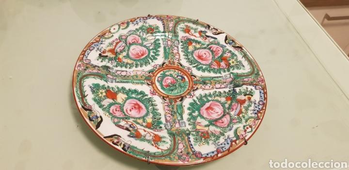 BONITO PLATO ORIENTAL (Antigüedades - Porcelanas y Cerámicas - China)