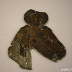 Antigüedades: ANTIGUA CHAPA JESUCRISTO. Lote 120611863