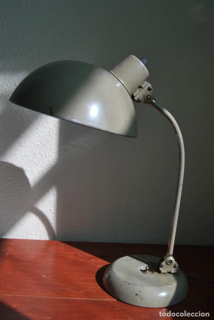 LÁMPARA KAISER - FLEXO - DISEÑO INDUSTRIAL - TALLER - AÑOS 30 (Antigüedades - Iluminación - Lámparas Antiguas)