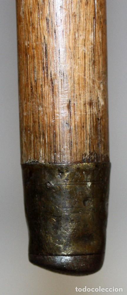 Antigüedades: BASTON CON EMPUÑADURA DE ASTA Y CAÑA. CIRCA 1940 - Foto 7 - 120630287
