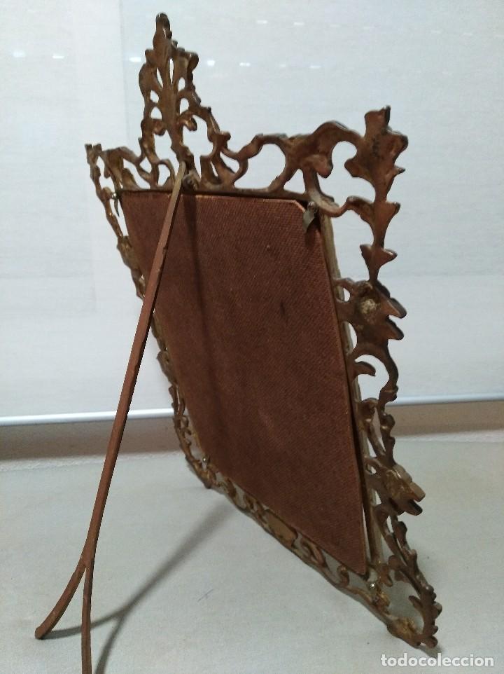 antiguo marco portafotos en bronce de gran tama - Comprar Marcos ...