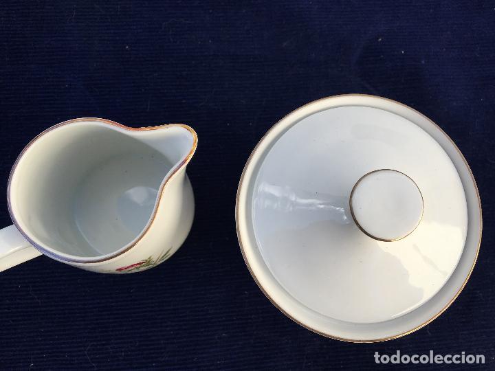 Antigüedades: JUEGO DE CAFÉ EN PORCELANA DE BAVARIA SELLADO - Foto 11 - 120633295