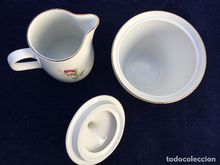 Antigüedades: JUEGO DE CAFÉ EN PORCELANA DE BAVARIA SELLADO - Foto 12 - 120633295