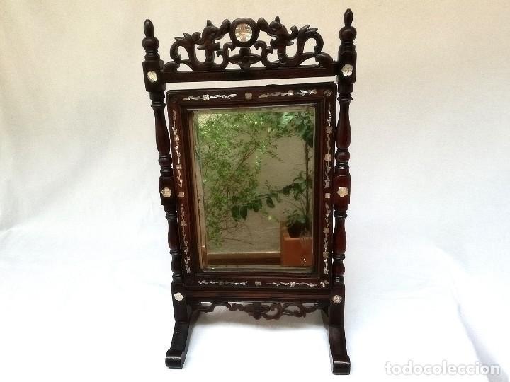 Antigüedades: Espejo de tocador francés - Foto 2 - 120669571