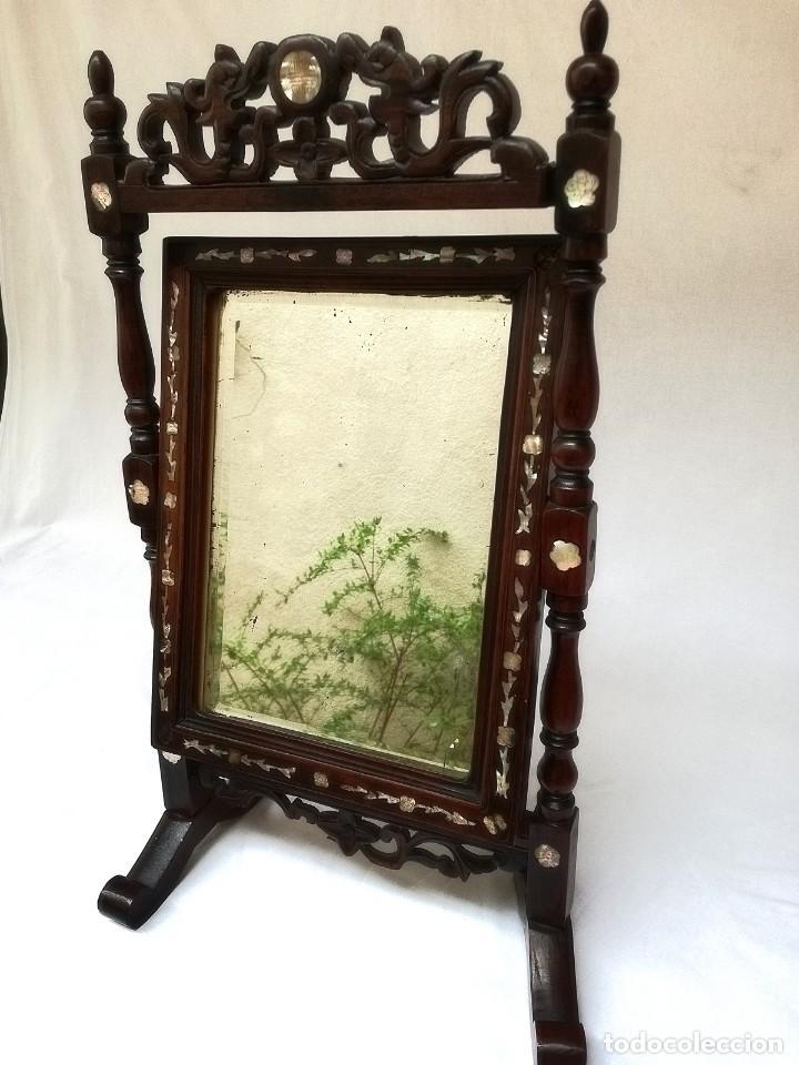 Antigüedades: Espejo de tocador francés - Foto 3 - 120669571