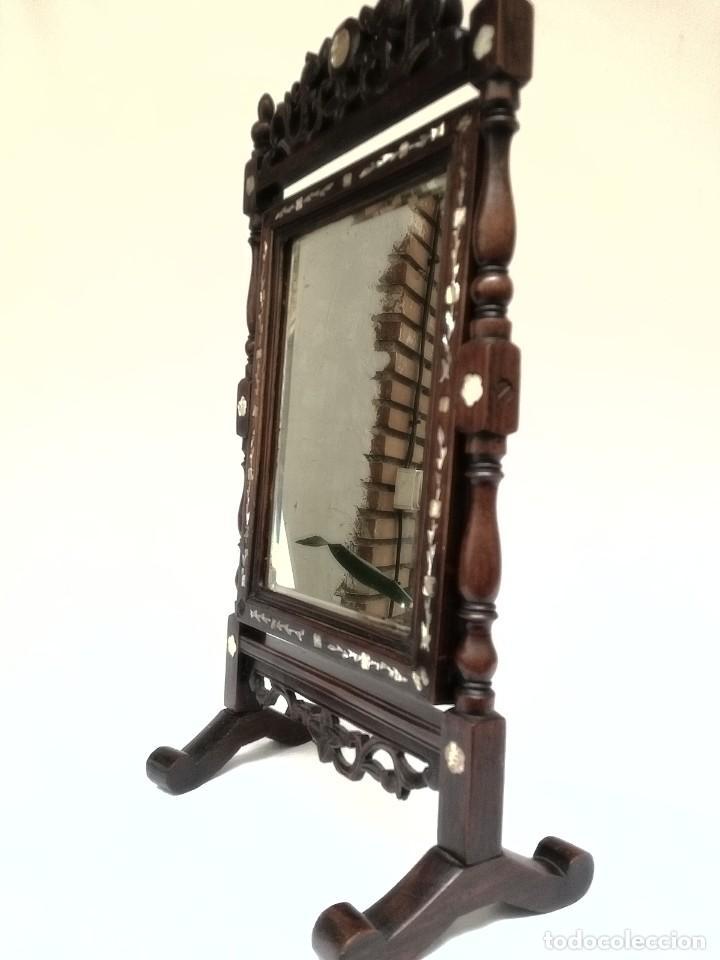 Antigüedades: Espejo de tocador francés - Foto 4 - 120669571