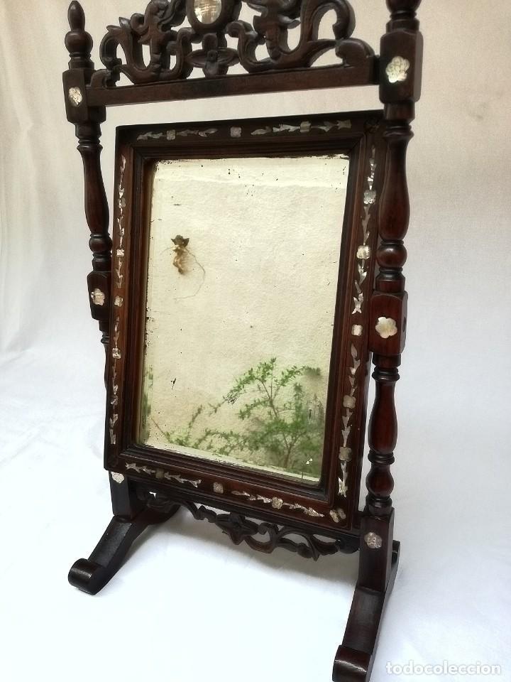Antigüedades: Espejo de tocador francés - Foto 8 - 120669571