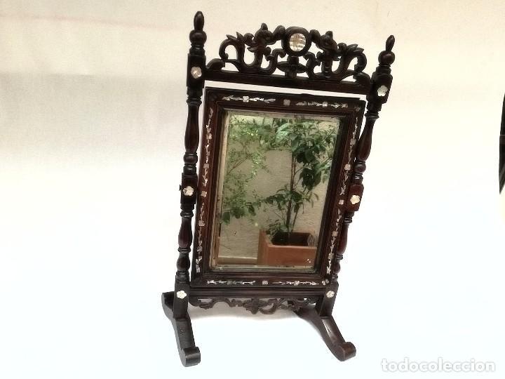 Antigüedades: Espejo de tocador francés - Foto 9 - 120669571