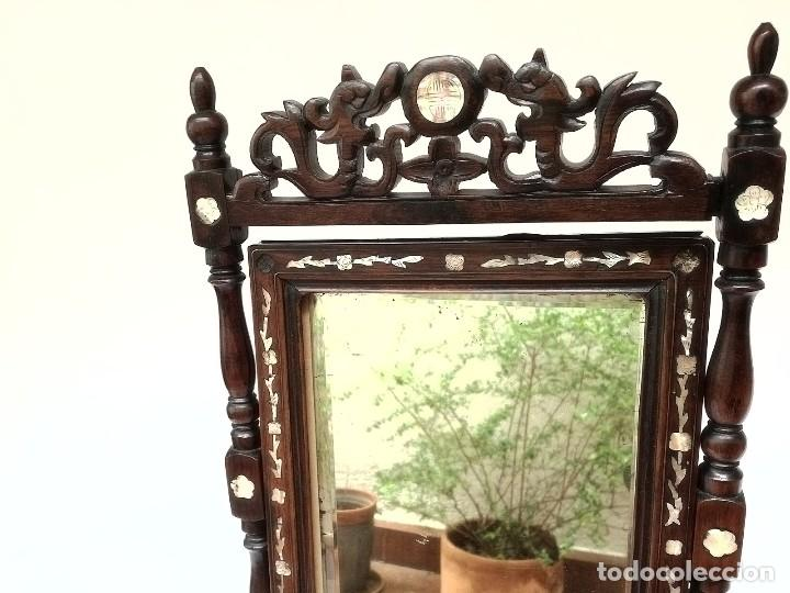 Antigüedades: Espejo de tocador francés - Foto 11 - 120669571