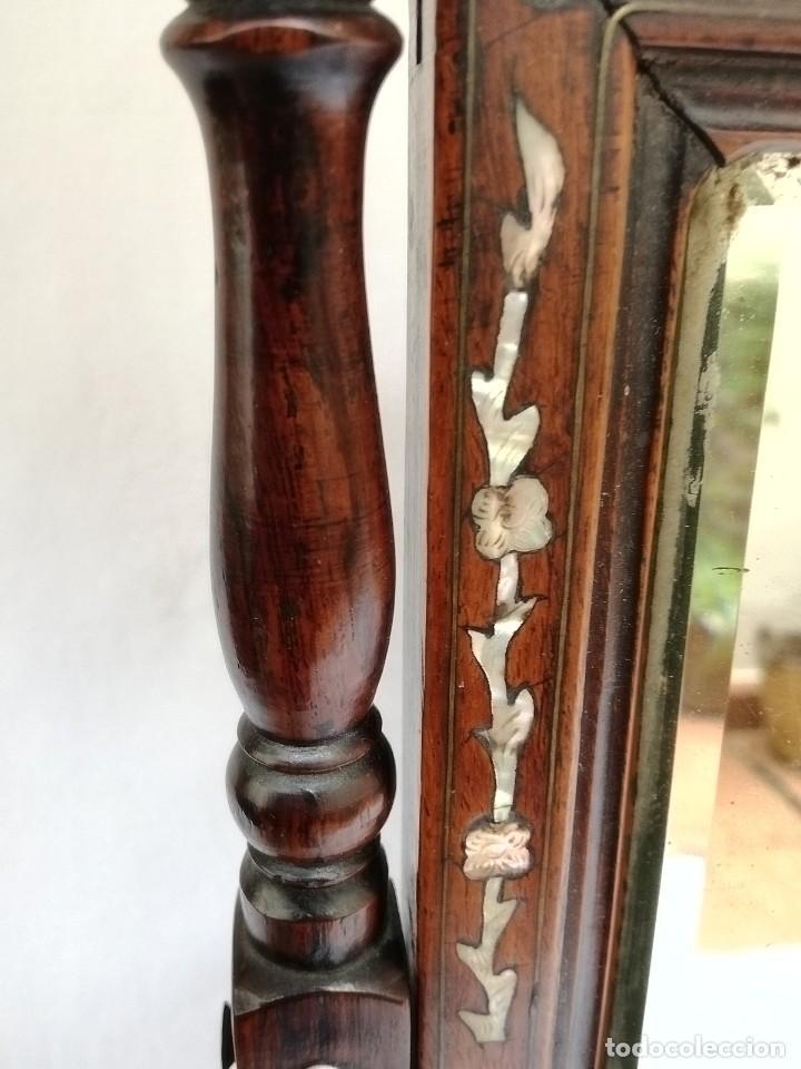 Antigüedades: Espejo de tocador francés - Foto 12 - 120669571