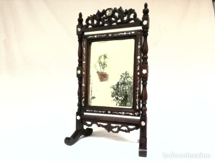 Antigüedades: Espejo de tocador francés - Foto 13 - 120669571