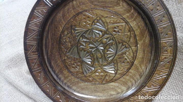 Antigüedades: Pareja de platos para decoración. Actuales - Foto 4 - 120700735