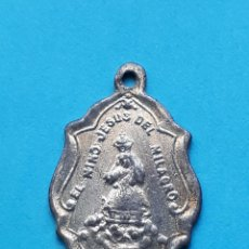 Antigüedades: ANTIGUA MEDALLA DEL NIÑO JESUS DEL MILAGRO ALCOY ALICANTE. Lote 120732119