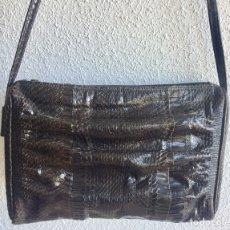 Antiques - Vintage bolso de piel de serpiente Años 70 - 120107956