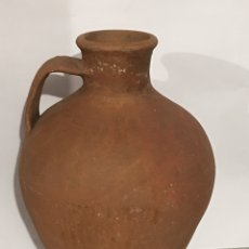 Antigüedades: ANTIGUO CÁNTARO DE BARRO POPULAR. Lote 120758855