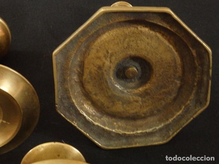 Antigüedades: Decorativo conjunto de utensilios para iluminar de los siglos XVII-XVIII-XIX. - Foto 9 - 120765803