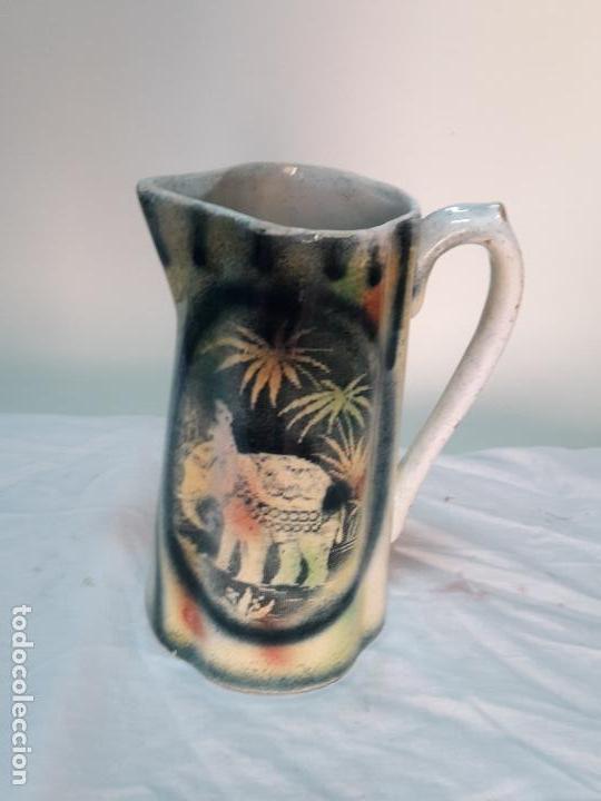 JARRA GRANDE DE CERÁMICA VALENCIANA, FF XIX. (Antigüedades - Porcelanas y Cerámicas - Manises)